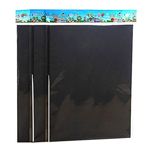 Rainbow Scratch Paper Notizblock, Spiralbindung, mit schwarzem Regenbogen-Kratzpapier, für Kinder, Mädchen, 10 Stück