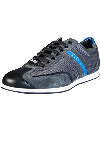 Hugo Boss Green Stiven formatori Charcoal EU45 / UK11