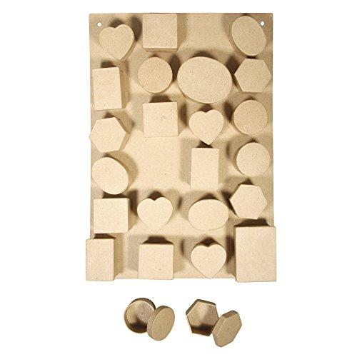 rayher-hobby-71863000-set-per-calendario-dellavvento-di-cartapesta-materiale-riciclato-28-x-40-x-38-