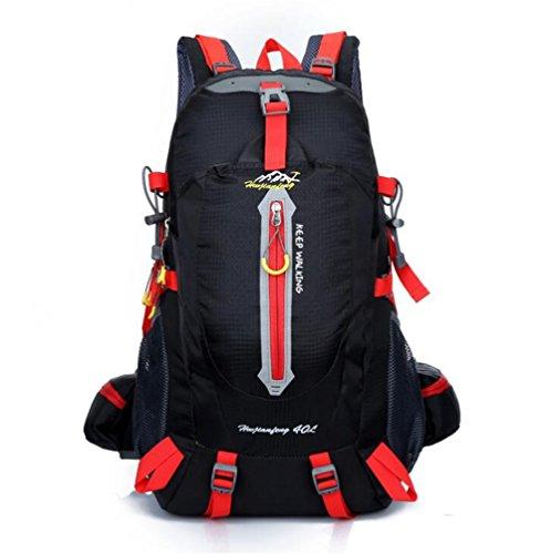 Wmshpeds Camping all'aperto nello zaino arrampicata gli amanti della borsa tracolla uomini e donne travel escursionismo zaino B