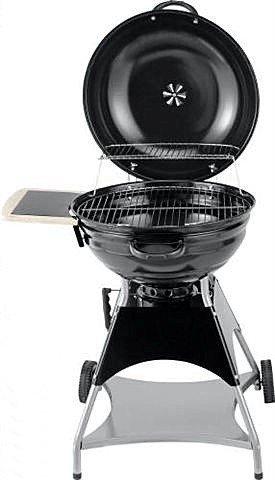 53,5cm Kugelgrill Burnaby Grill Grillwagen Fahrbar Grillen Tüv mit Seitentisch