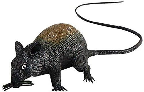 Rat Squeaking 13cm Large Accessory Fancy Dress (Halloween Von Tage 13 Spiel)