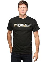 Ripple Junction WWE WrestleMania Logo 30/1 Men's T-Shirt