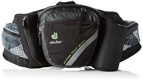 Deuter Pulse Sacoche de ceinture Anthracite/Black 2 + 1 L