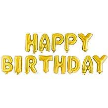 Cookey 100 Piezas de Color Partido Globos de Fiesta para la Fiesta de Cumpleaños de la Boda - 12 inch de Látex Globos (Cumpleaños Globos)