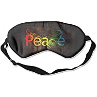 Eye Mask Eyeshade Peace Words Design Sleep Mask Blindfold Eyepatch Adjustable Head Strap preisvergleich bei billige-tabletten.eu