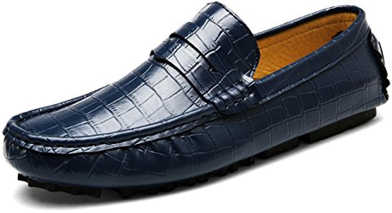 Zapatos De Conducción Británicos Casuales para Hombre Zapatos De Guisantes