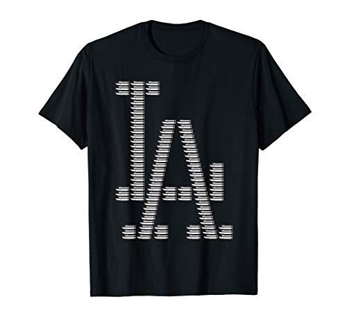 Los Angeles Westside Hip Hop Westküste Grafitti T-Shirt