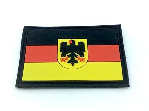 Patch Nation Deutsch Deutschland Königlichem Wappen Kaiseradler Flaggen PVC Klett Abzeichen Wappen-patches