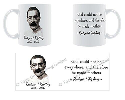 Gott Kann nicht überall sein, und somit ER Made Mütter–Rudyard Kipling Keramik Tasse