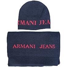 Emporio Armani Mütze   Schal Set, Ensemble Bonnet, Écharpe Et Gant Homme  (Lot c62301027e4