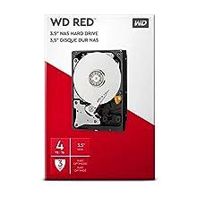 "WD WDBMMA0040HNC-ERSN Hard Disk per NAS, Intellipower, SATA 6 GB/s, 64 MB Cache, 3.5"", 4 TB"