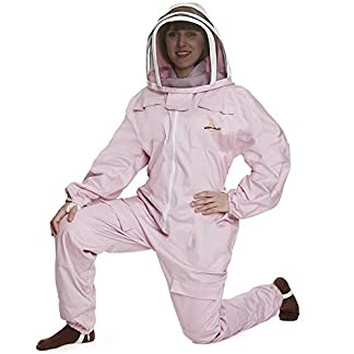 Natural Apiary - Apiarist Beekeeping Suit - Polycotton - Fencing Veil - Total Protection for beekeepers -2XS 8