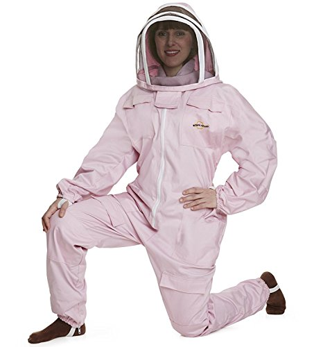 Natural Apiary - Apiarist Beekeeping Suit - Polycotton - Fencing Veil - Total Protection for beekeepers -2XS 1
