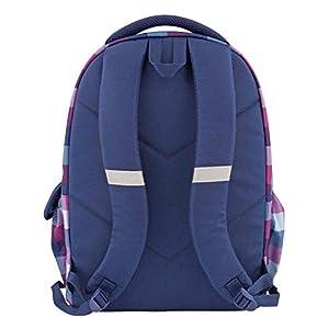 414cRqhYVxL. SS300  - Depesche 10208 Topmodel Smiley - Mochila escolar con lentejuelas, color azul
