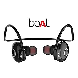Boat Rockerz 210 In-Ear Bluetooth Earphones with Microphone (Black)