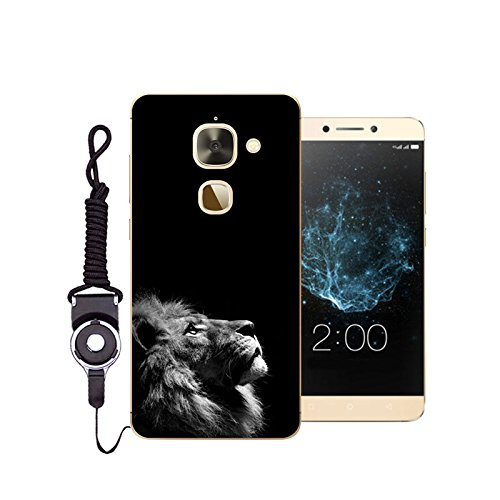 Easbuy Handy Hülle Soft Silikon Case Etui Tasche für Leeco Le 2 pro / Leeco Le 2 / X620 Smartphone Cover Handytasche Handyhülle Schutzhülle