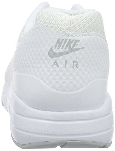 Nike Herren Air Max 1 Ultra Essenziale Low-top Weiß (platino Bianco / Bianco-puro)