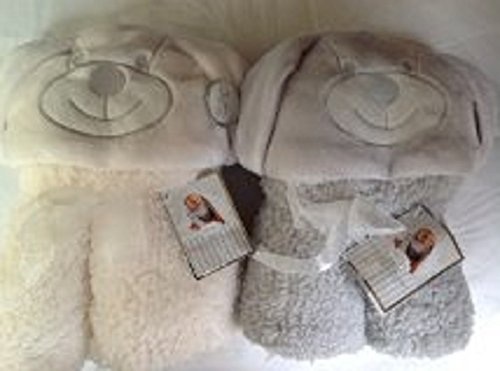 new-little-dreams-hooded-sherpa-soft-cuddly-baby-blanket-with-hood-white-grey-white