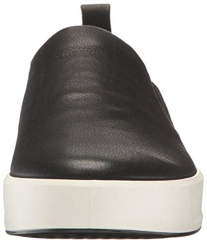 Ecco Soft 8 Mens, Sneaker Infilare Uomo Nero (Black)