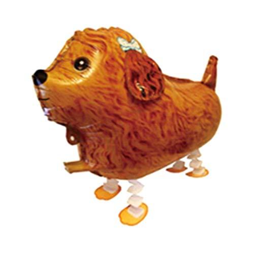 YuzhouGJ Kostengünstig Walking Tiere Ballons Süß Katze Hund Schwein Dinosaurier Ballons Haustier Bälle Party Geburtstag Dekoration (ohne Walking Hund YT-02)