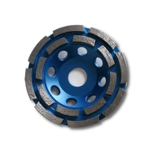 KENT Premium 4inch Grit 30~40 Double Row Diamond Cup Grinding Wheel 7/8