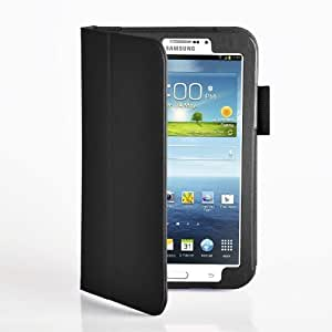 MOFRED ® Multi Function Stand Case For Samsung Galaxy Tab 37.0 Inch, with Screen Protector/Stylus,  - black, Galaxy Tab 3 7.0 inch