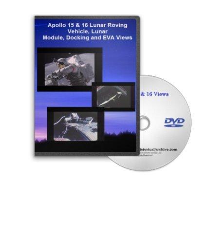 Preisvergleich Produktbild Apollo 15 & 16 Lunar Roving Vehicle,  Lunar Module,  Docking and EVA Views