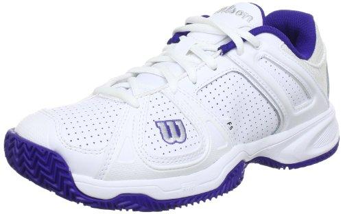 WILSON Stance CC WRS316690E035, Scarpe da Tennis Donna, Bianco (Weiß (White)), 37