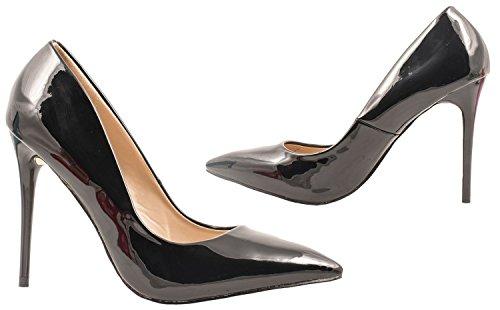 Elara - Scarpe con cinturino alla caviglia Donna Schwarz Paris