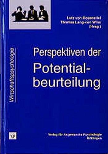Perspektiven der Potentialbeurteilung (Wirtschaftspsychologie)