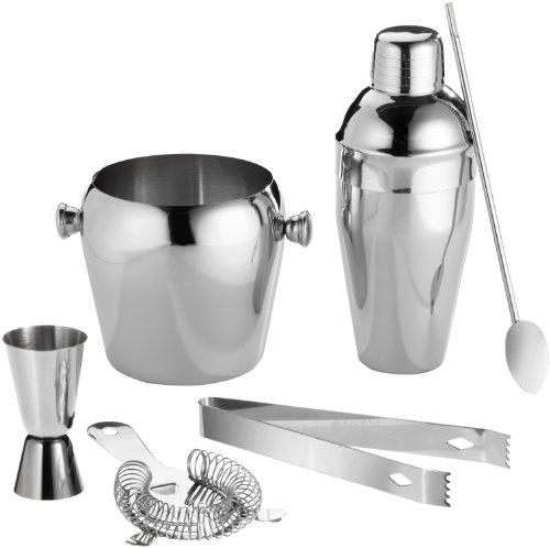Cocktailmixer Set 6 tlg Edelstahl Cocktailmixerset
