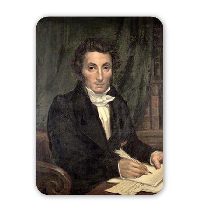 Portrait of Rene Caillie (1799-1838), French.. - Mousepad - Natürliche Gummimatten bester Qualität - Mouse Mat - 1799 Portrait
