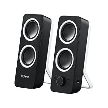 9d5e833a2ef Logitech Z200 Multimedia Speakers/PC Speakers - Midnight Black ...