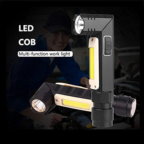 kingpo Xiangpian183 Outdoor-Taschenlampe, Scheinwerfer, Arbeitsscheinwerfer 90 Grad Mini-Taschenlampe IP65 wasserdichte Taschenlampe für Camping, Wandern (einschließlich Batterien) serviceable