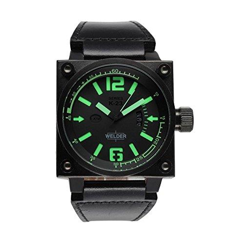 Coffret reloj Welder hombre K-23modelo Data negra y verde–1704/K23DB bk-gn