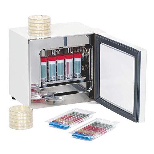 Labocult Labor-Wärmeschrank, Inkubator, 300x330x330mm, weiß, 200-240V, mit Einlegeboden, elektr.Temperaturregelung -