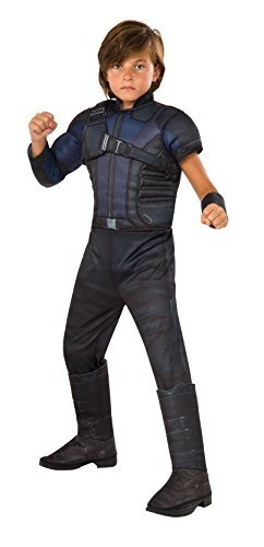 Marvel's Captain America: Civil War - Deluxe Muscle Chest Hawkeye Costume for Ki by Rubies