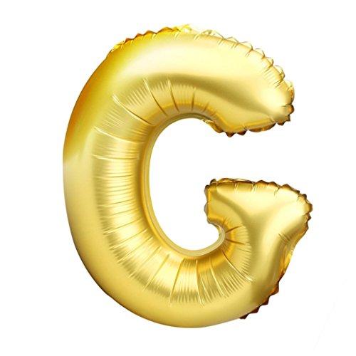 s Z Buchstabe Folie Ballons Party Ballon gold Farbe für Geburtstag, Neues Jahr, Weihnachten, g ()