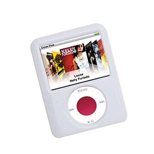 DealMux Puppy Pattern weiß Hartplastik Fall für den iPod nano 3G (Ipod-fall 3.)