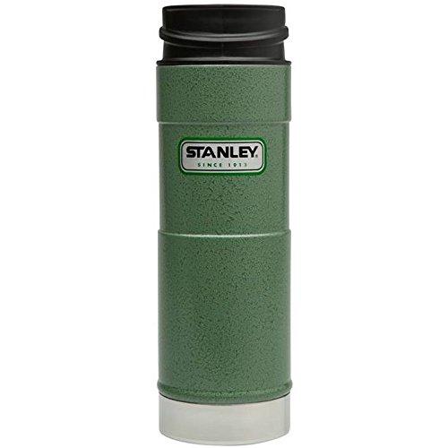 Stanley Classic Vacuum Mug Behälter, Edelstahl, Hammertone Green, 473 ml