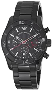 Armani Sport Homme 45mm Chronographe Date Minéral Verre Montre AR5931