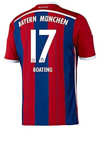 FC Bayern München Home Trikot 2014/15 - BOATENG, & MEISTER- Größen S