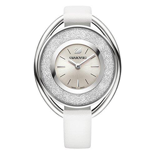 Swarovski crystalline oval white orologio