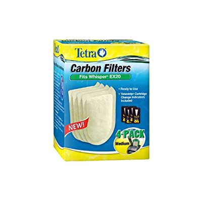 Tetra Whisper EX Carbon Filter Cartridges - Ready to Use by Tetra