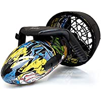StarkTech SeaScooter - Patinete Sumergible con hélices de Agua (300 W, hasta 6 km/h)