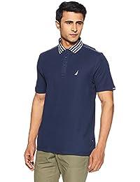 Nautica Men's Solid Slim Fit T-Shirt
