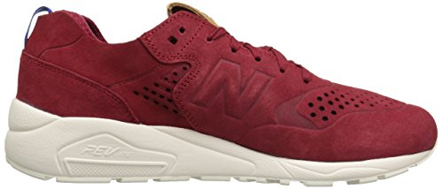 New Balance 580 Hommes Sneaker Rouge MRT580DR Rouge - Rouge