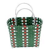 GC Handgewebte Gemüsekorb, Personalisierte Handtasche, Snack Spielzeug Warenkorb, Einkaufskorb