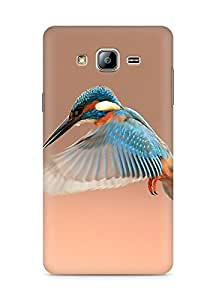 Amez designer printed 3d premium high quality back case cover for Samsung Galaxy ON5 (Beautiful Flapping Kingfisher Bird)